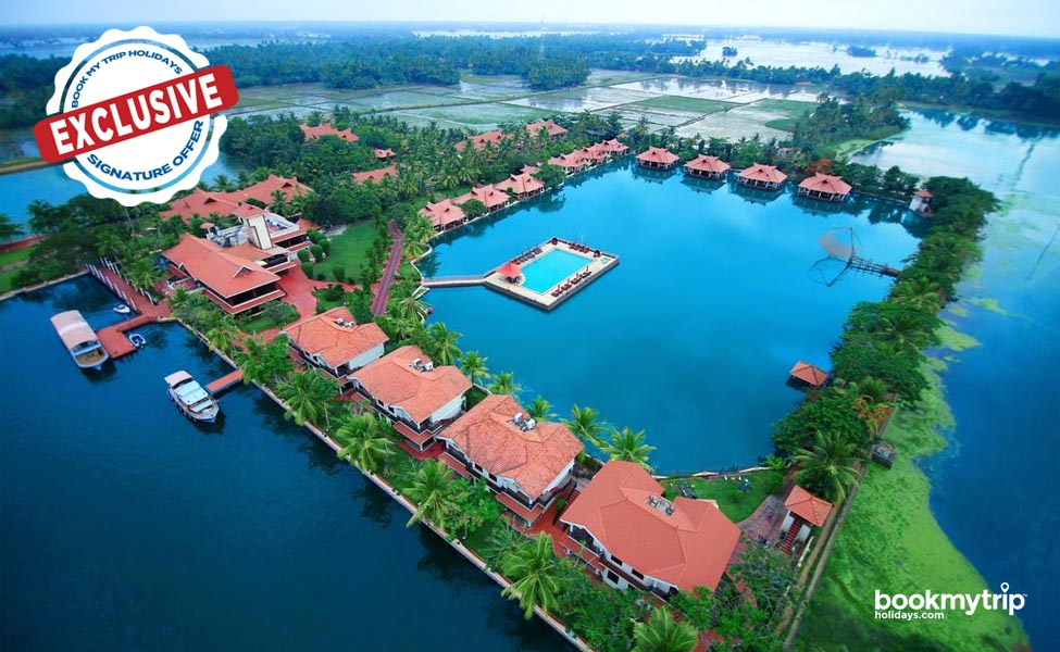 Bookmytripholidays | In the Laps of Backwater, Alleppey | Luxury tour packages