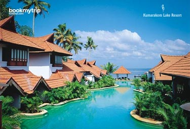 Bookmytripholidays | Kumarakom Lake Resort,Kumarakom  | Best Accommodation packages